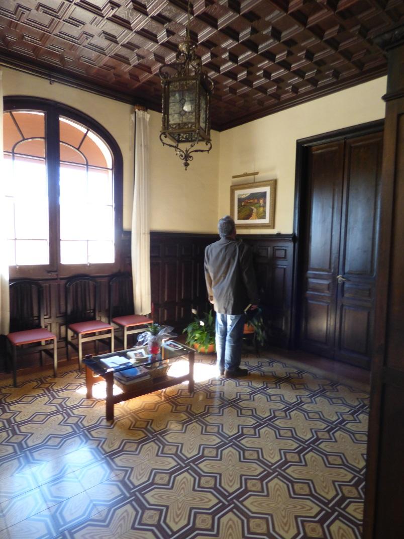 Sala d'espera de la recepció principal